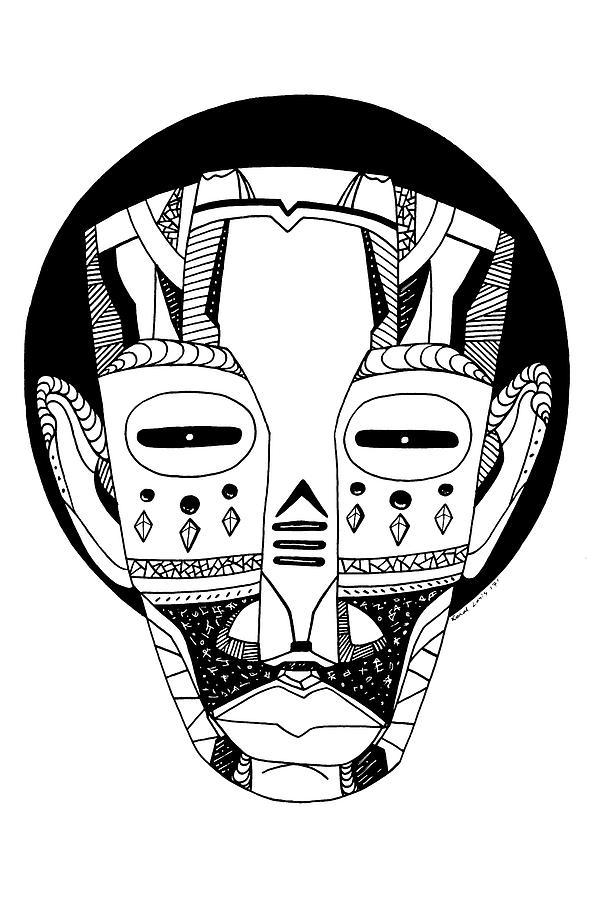 Mask No. 3 by Kenal Louis