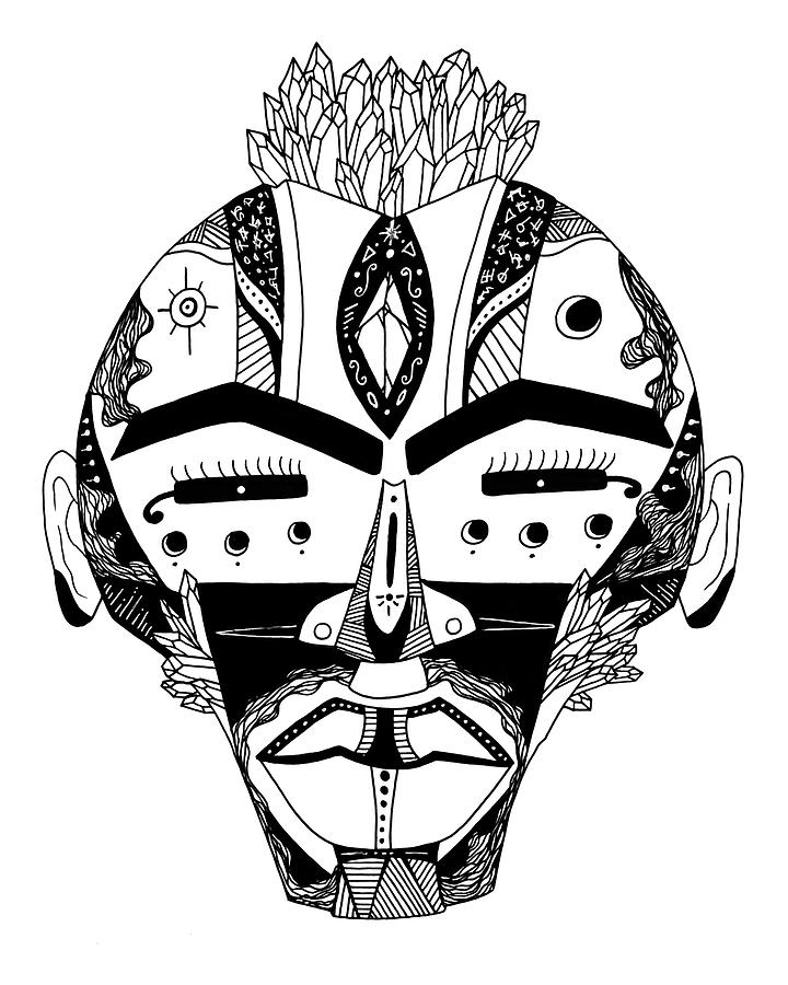 Mask No 4 by Kenal Louis