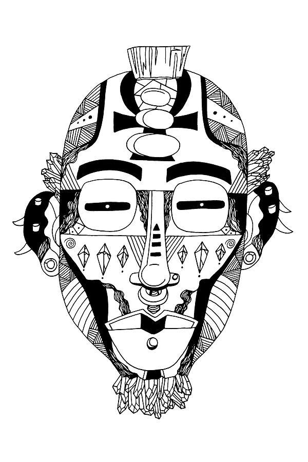 Mask No. 5 by Kenal Louis