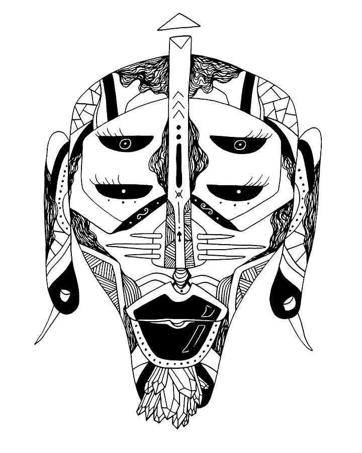Mask No.11 by Kenal Louis