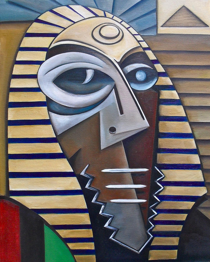 Mask Of The Enigmatic Painting by Martel Chapman