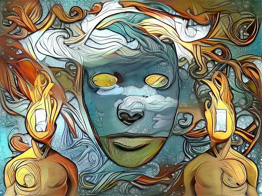 Masks Digital Art