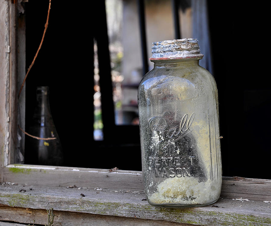 Mason Jar Photograph - Mason Jar by Todd Hostetter