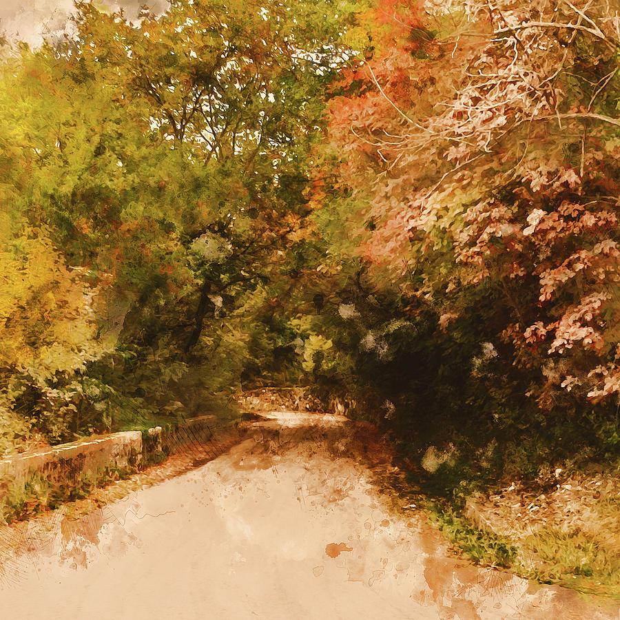 Massachusetts - Fall Views 03 Painting