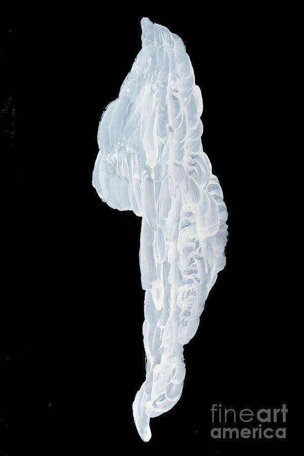 Icicle Photograph - Massive Icicle by Mary Mikawoz