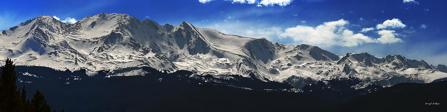 Mt Massive Photograph - Massive View by Darryl Gallegos