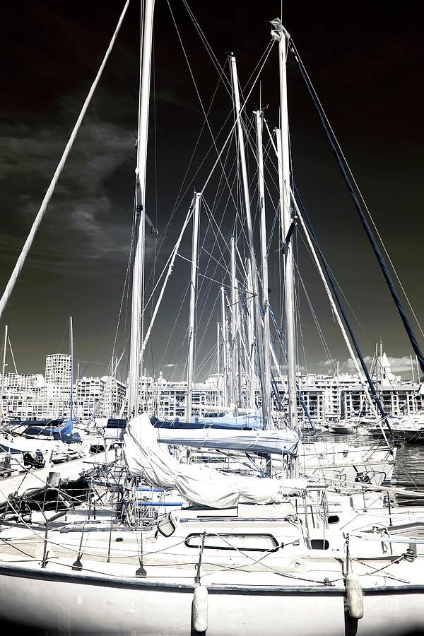 Mast Photograph - Mast Angles by John Rizzuto