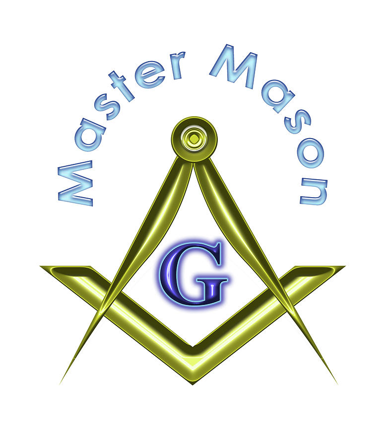 Master Digital Art - Master Mason In White by Reynaldo Williams