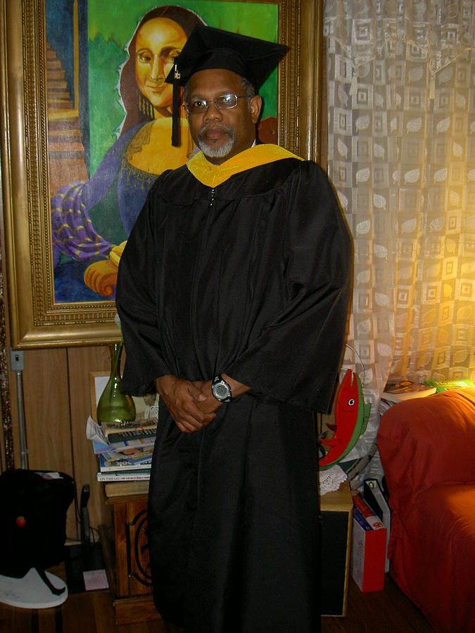 Graduation Photograph - Master Of Science  Instructional Technology by David G Wilson