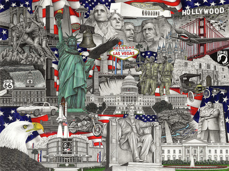 Masterpiece America by Omoro Rahim