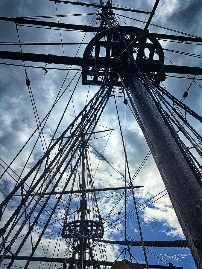 Masts and Rigging by David A Lane