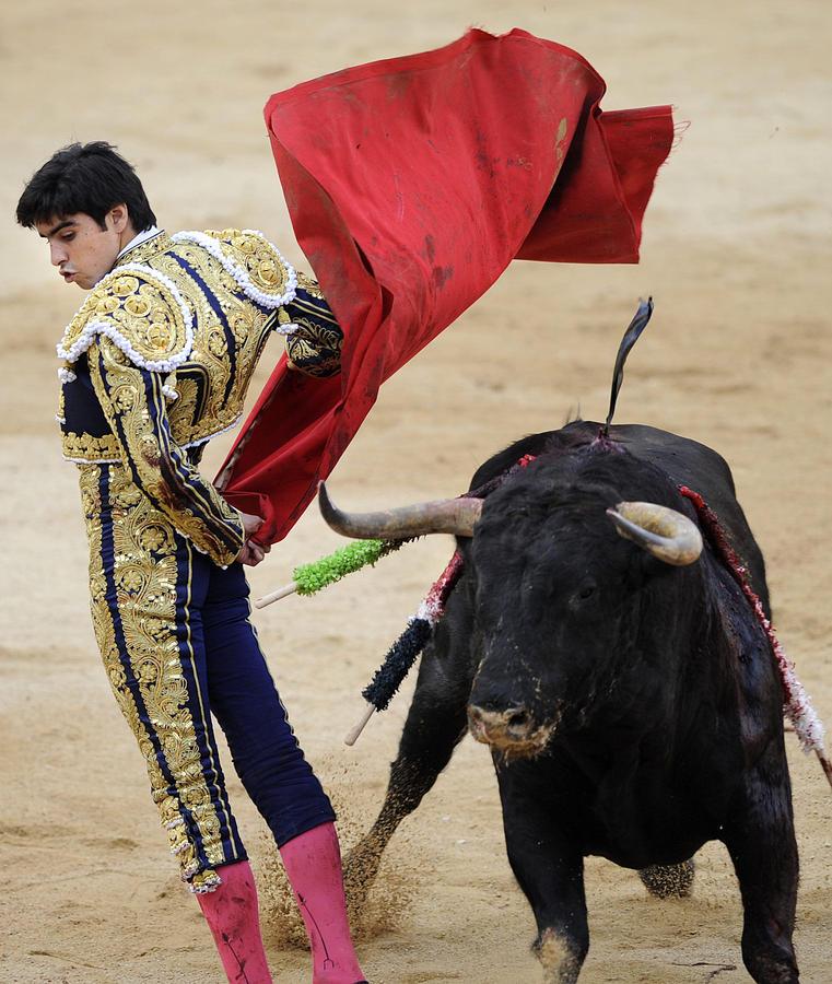 Span Photograph - Matador Miguel Angel Perera IIi by Rafa Rivas