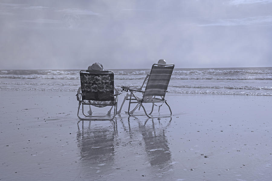 Chair Photograph - Match Made In Heaven by Betsy Knapp