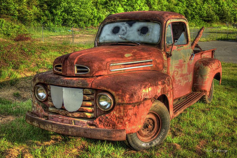 Pickup truck art