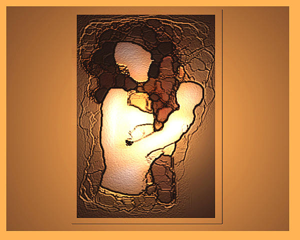 Mom's Digital Art - Mater Dei by Aline Pottier  Gama Duarte