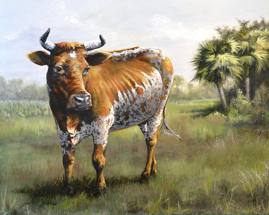 On the Florida Prairie Matilda by Joan Garcia