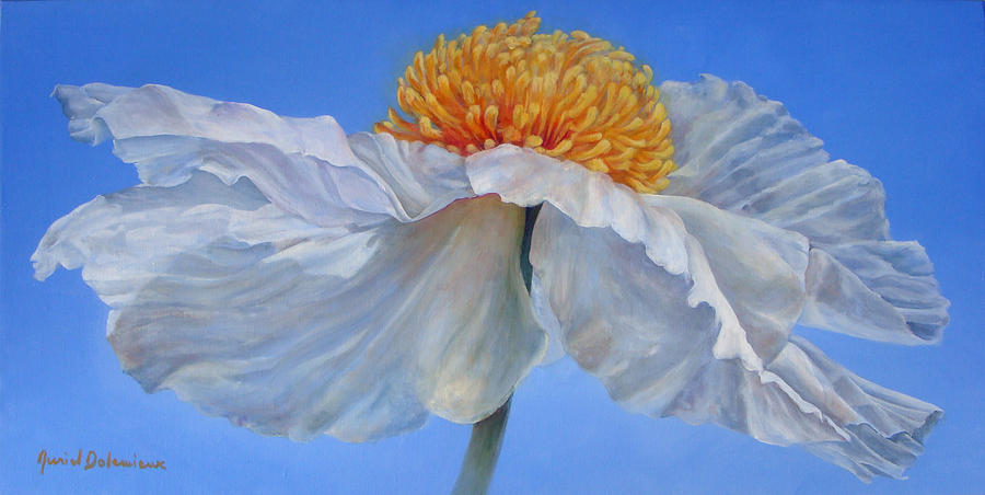 Flower Painting - Matilla 2 by Muriel Dolemieux