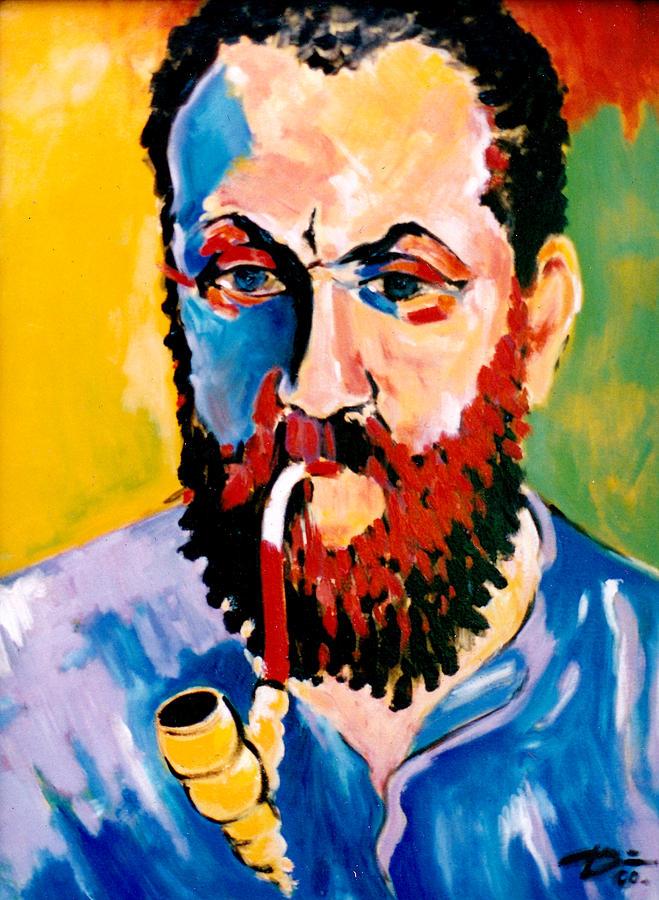 Portrait Painting - Matisse by Hans Doller