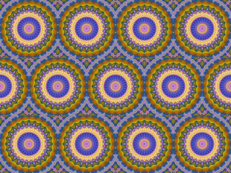 Matrix Pattern Design 003 A by Larry Capra