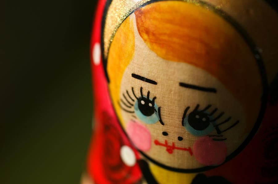 Matryoshka Doll Photograph - Matryoshka Doll by Edward Myers