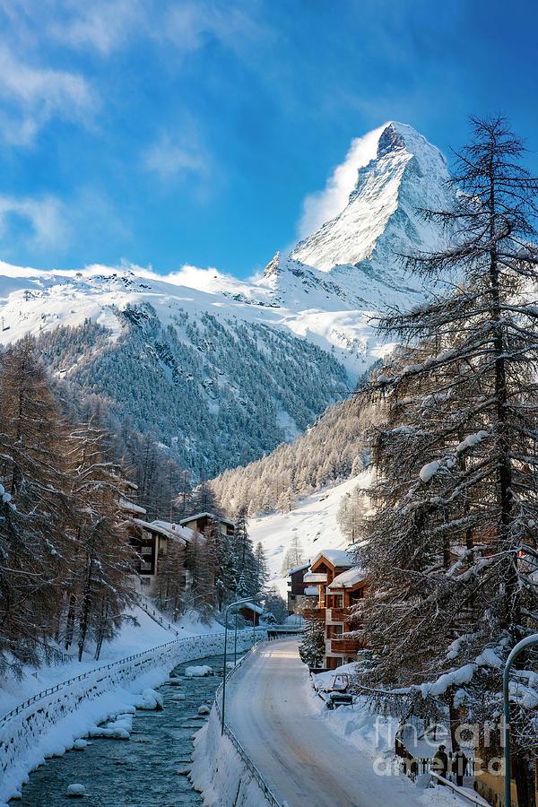 Mountain Photograph - Matterhorn  by Brian Jannsen