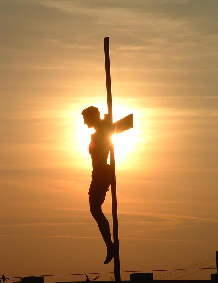 Jesus Photograph - Matthew Five Eight by Buzz Ferrell
