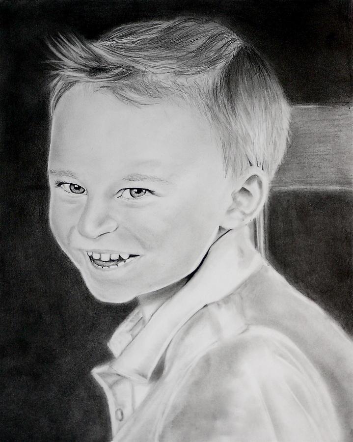 Matthew M. Drawing by Cristina Sofineti