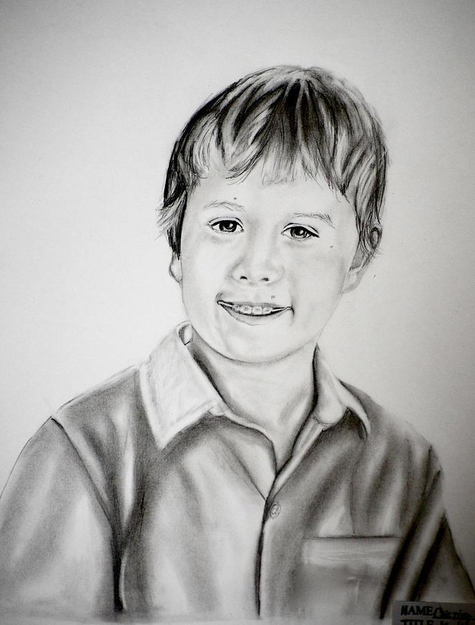 Matthew Drawing by Cristina Sofineti