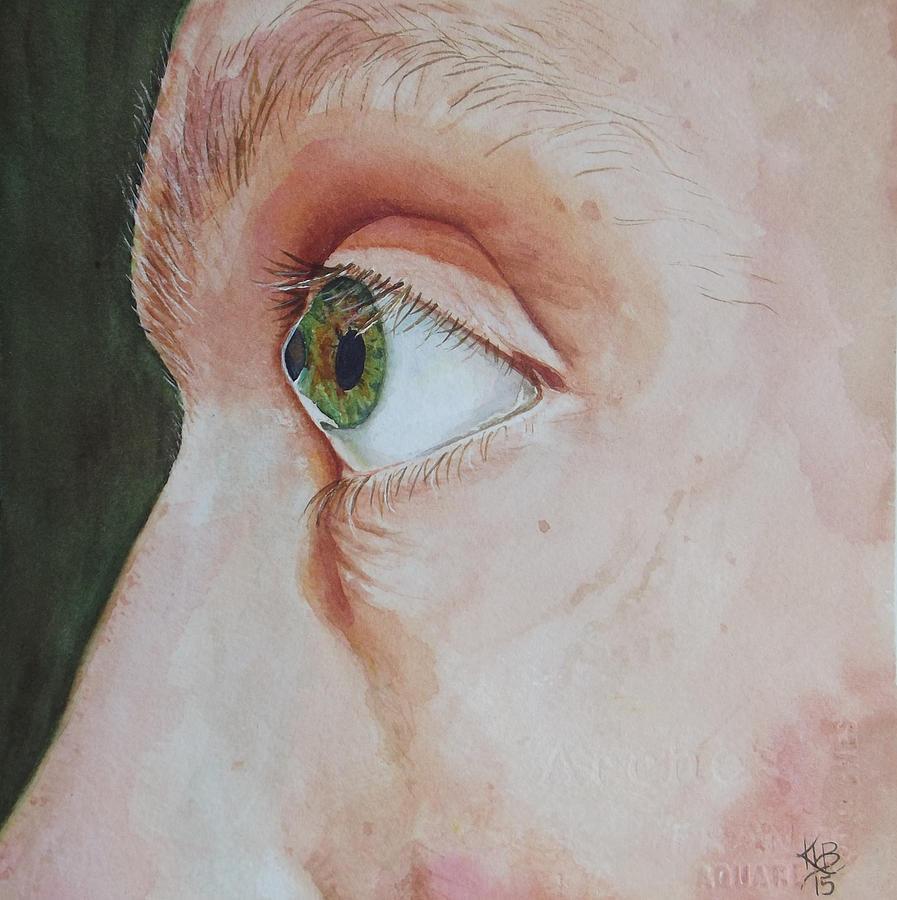 Cornea Painting - Matthews Cone by Kirsten Beitler