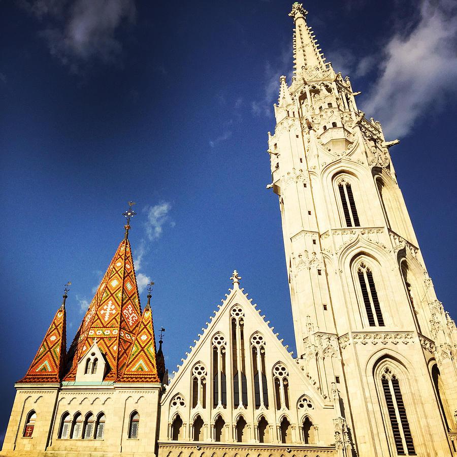 Budapest Photograph - Matthias Church in Budapest Hungary by Matthias Hauser
