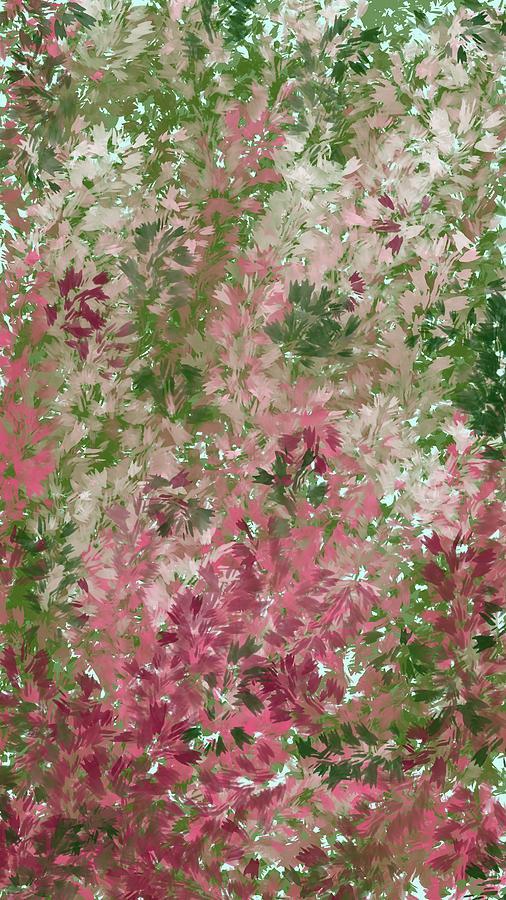 Abstract Digital Art - Matthiola by Olesya Sytnyk