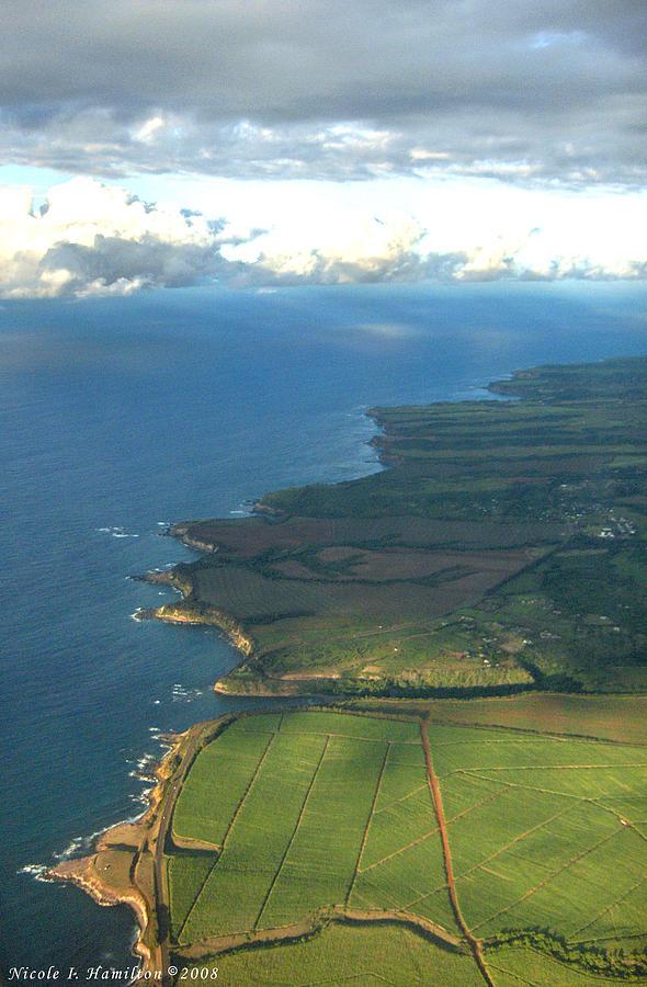 Maui Photograph - Maui Coastline by Nicole I Hamilton