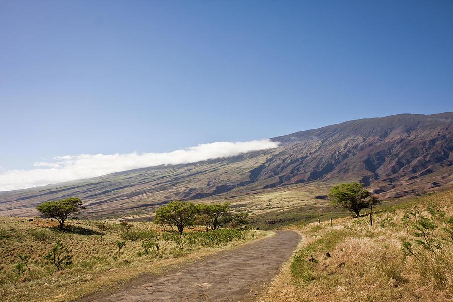 Adventure Photograph - Maui Haleakala Volcano Southeast Side by Denis Dore