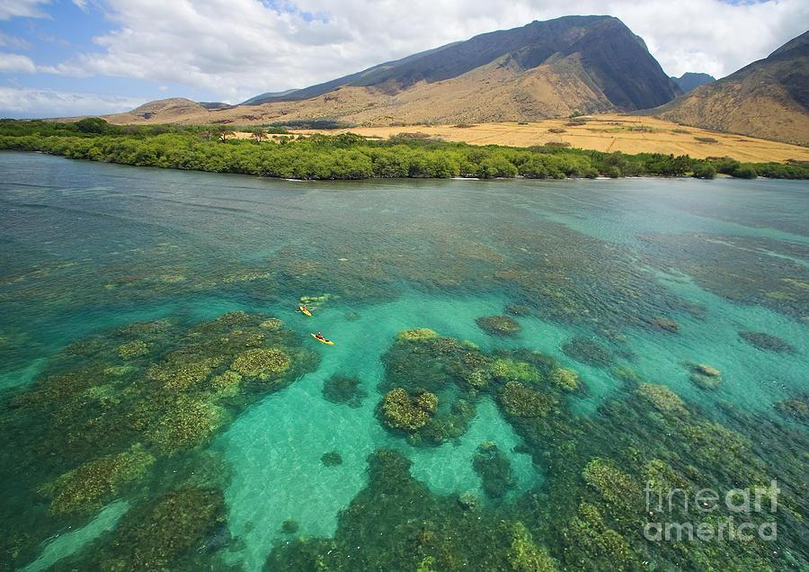 Above Photograph - Maui Landscape by Ron Dahlquist - Printscapes