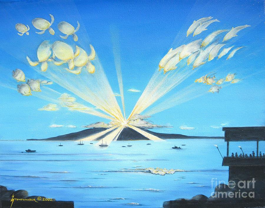 Maui Painting - Maui Magic by Jerome Stumphauzer