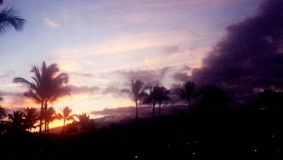 Travel Photography Photograph - Maui Sunrise by Samuel H Gross Jr