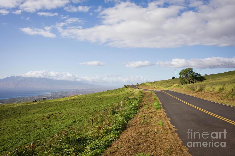 Adventure Photograph - Maui Upcountry Kula Road by Denis Dore