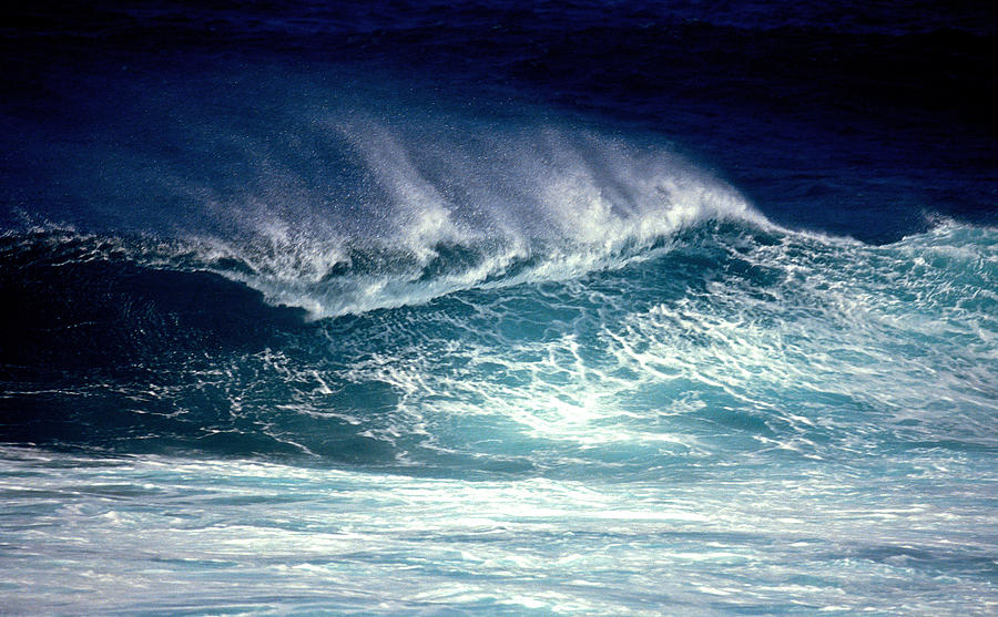 Wave Photograph - Maui Wave by Bill Morson