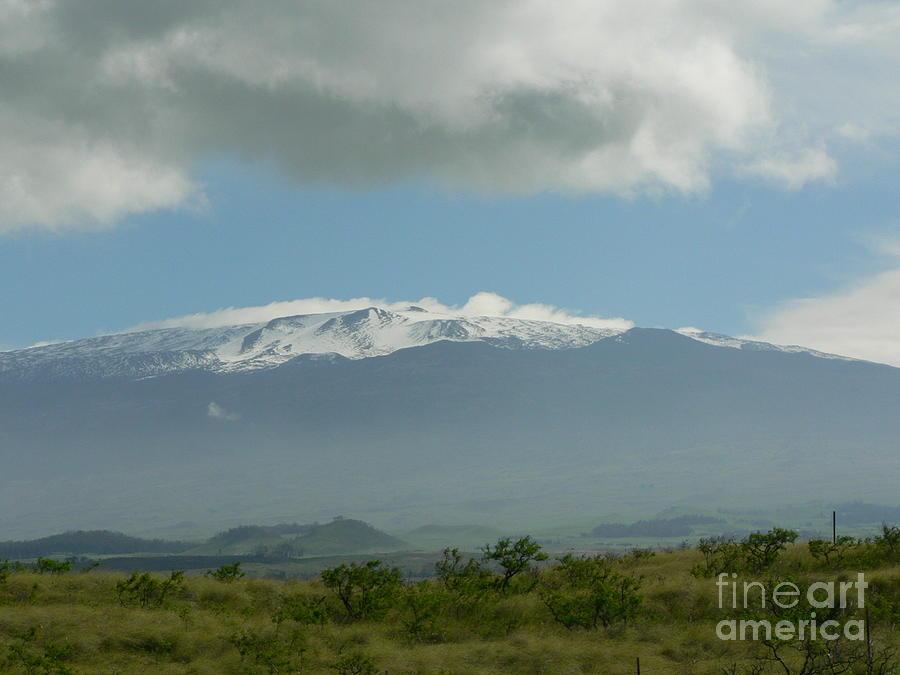 Volcano Photograph - Mauna Kea by Don Lindemann