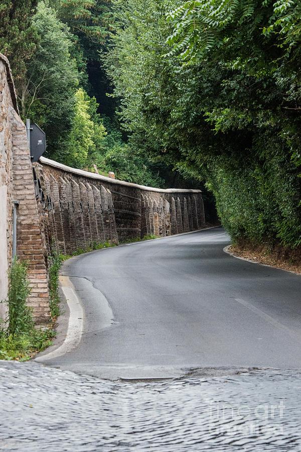 Appian Way Photograph - Mausoleo Di Cecilia Metella by Joseph Yarbrough