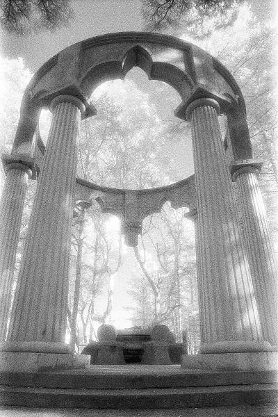 Landscape Photograph - Mausoleum by Paul Aiello