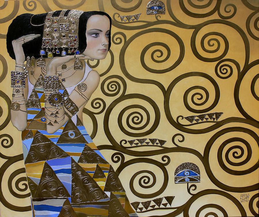 Body Painting - Mavlo - Klimt by Valeriy Mavlo