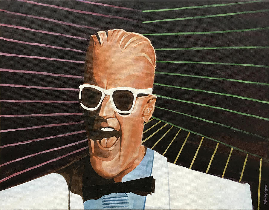 Max Headroom by Michael Morgan