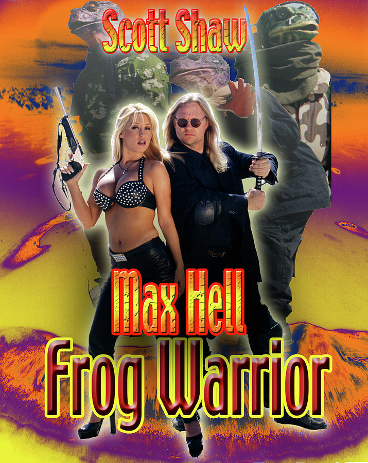 Scott Shaw Photograph - Max Hell Frog Warrior by The Scott Shaw Poster Gallery