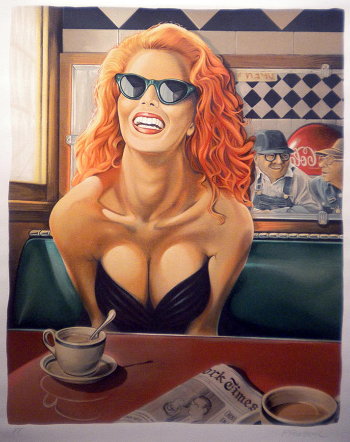 Diner Pastel - Maxine by Patrick Anthony Pierson