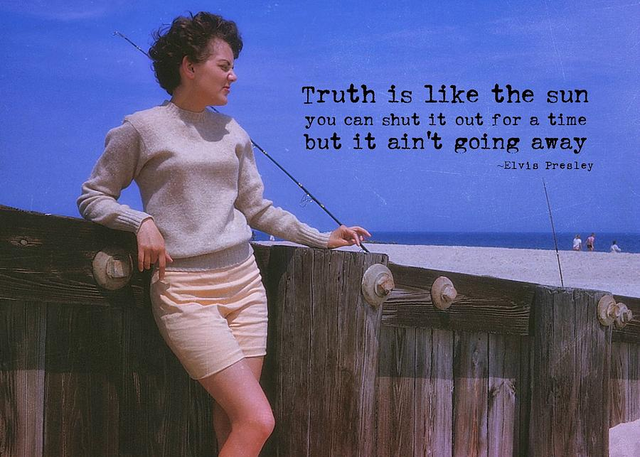 Truth Photograph - May September Romance Quote by JAMART Photography