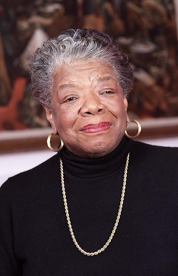 Maya Angelou Photograph - Maya Angelou by Robert Ponzoni