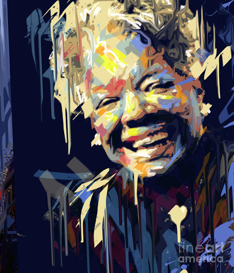 Maya Angelou Painting Canvas