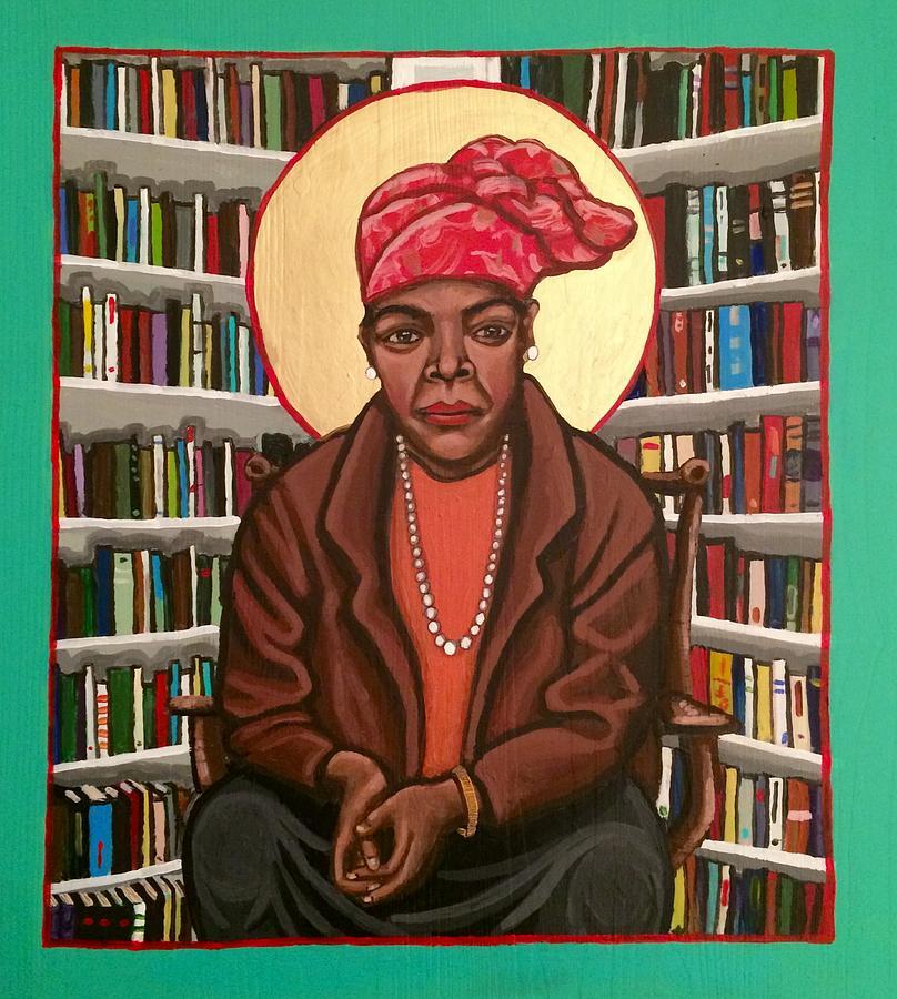 Maya Angelou by Kelly Latimore