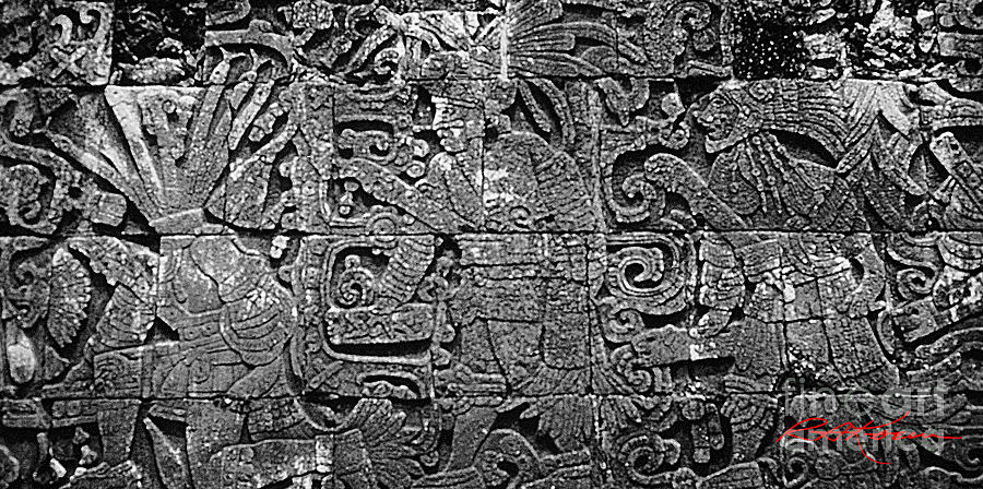 Mayan Language Photograph - Maya Lingua Franca by Roy Anthony Kaelin